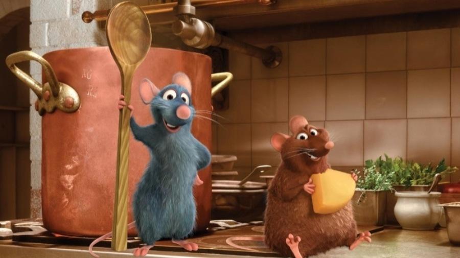 Bildergebnis für disney ratatouille filmszene